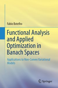 Functional Analysis and Applied Optimization in Banach Spaces