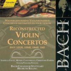 Wiedergewonnene Violinkonzerte