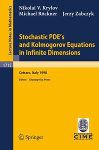 Stochastic PDE's and Kolmogorov Equations in Infinite Dimensions