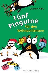 Fünf Pinguine für den Weihnachtsmann