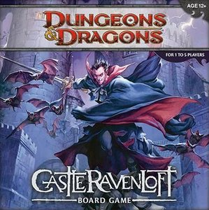 Dungeons & Dragons: Castle RavenLoft Board Game [With 20-Sided D