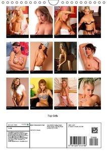 Top Girls (Wall Calendar 2015 DIN A4 Portrait)