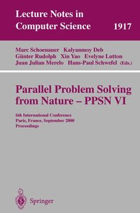 Parallel Problem Solving from Nature - PPSN VI