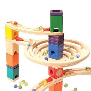Hape E6005 - Quadrilla Kugelbahn 91 teilig