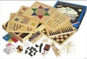 Philos 3102 - Holz-Spielesammlung 100