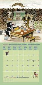 Der kleine Maulwurf 2017 - Broschürenkalender