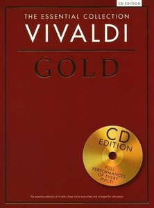 The Essential Collection Vivaldi Gold Piano Book