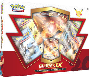 Pokémon Rote & Blaue Kollektion Glurak-EX