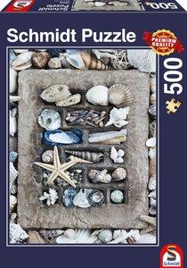 Strandgut, 500 Teile Puzzle
