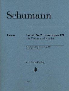 Sonate Nr. 2 d-moll op. 121 für Violine und Klavier