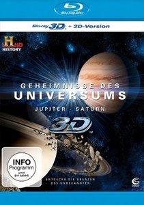 Geheimnisse des Universums 3D - Jupiter/Saturn