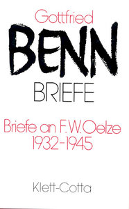 Briefe I. Briefe an F. W. Oelze, 1932-1945
