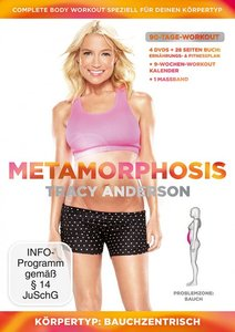 Tracy Anderson - Metamorphosis Körpertyp: Bauchzentrisch Problem