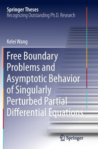 Free Boundary Problems and Asymptotic Behavior of Singularly Per