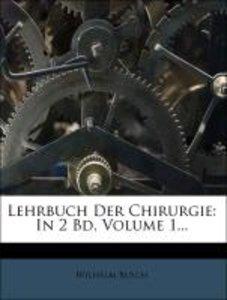 Lehrbuch der Chirurgie: Allgemeine Chirurgie.