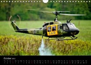 Scale Helicopters / UK-Version (Wall Calendar 2015 DIN A4 Lands
