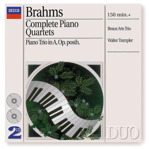 Sämtliche Klavierquartette 1-3 (GA)