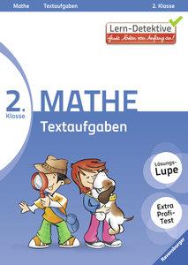 Lern-Detektive: Textaufgaben (Mathe 2. Klasse)