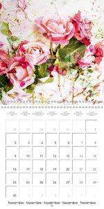 Floral Emotion (Wall Calendar 2015 300 × 300 mm Square)