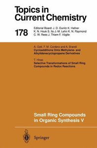 Small Ring Compounds in Organic Synthesis V