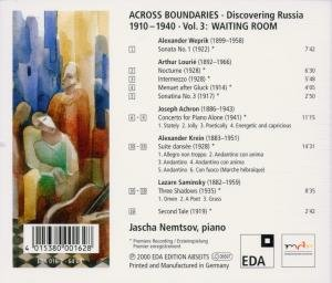 Across Boundaries: Discovering Russia 1910-1940 V3
