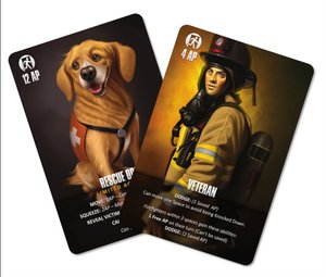 Heidelberger ID011 - Flash Point: Veteran & Rescue Dog ENGLISH