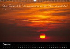 Natur trifft Zitate (Wandkalender 2016 DIN A3 quer)