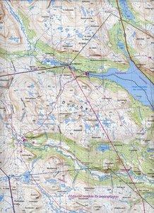 Fjällkartan 1 : 100 000 BD1 Treriksröset - Rostojávri Bergwander