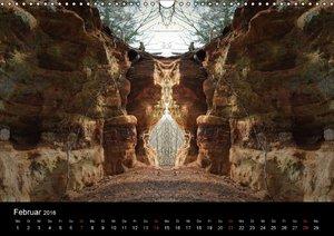 Spiegelwelten - Natur anders sehen (Wandkalender 2016 DIN A3 que