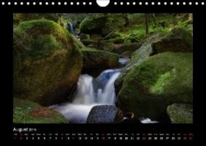 Mountain streams Wild and Romantic (Wall Calendar 2015 DIN A4 La