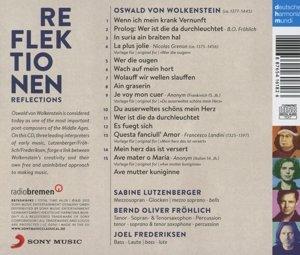 Oswald von Wolkenstein ? Reflektionen