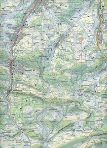Swisstopo 1 : 25 000 Hauenstein