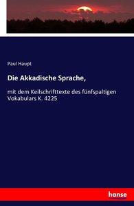 Die Akkadische Sprache,