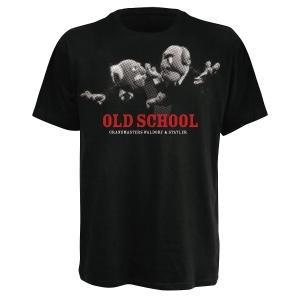 OLD SCHOOL WALLDORF,T-SHIRT,GRÖßE S,SCHWARZ