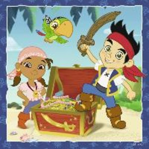 Ravensburger 09337 - Jakes Piratenwelt, Puzzle, 3x49 Teile