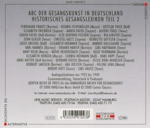 Abc Der Gesangskunst Teil 2