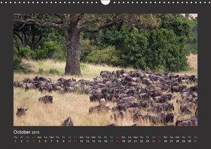 K E N Y A - UK Version (Wall Calendar 2015 DIN A3 Landscape)