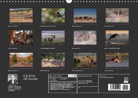 K E N Y A - UK Version (Wall Calendar 2015 DIN A3 Landscape) - zum Schließen ins Bild klicken
