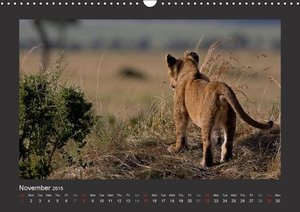 K E N Y A - UK Version (Wall Calendar 2015 DIN A3 Landscape)