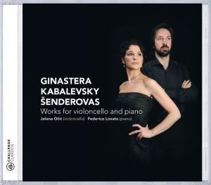 Ginastera,Kabalewsky and Senderovas-Works for