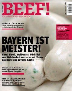 BEEF! - Für Männer mit Geschmack. Ausgabe 5/2013