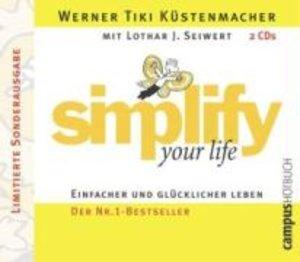 Simplify Your Life. 2 CDs. Limitierte Sonderausgabe