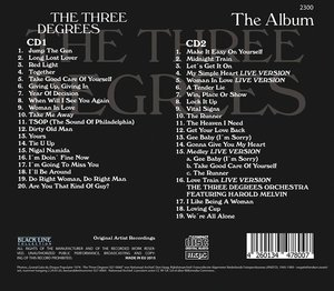 The Three Degrees-The Album
