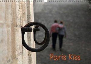 Paris Kiss (Calendrier mural 2015 DIN A3 horizontal)