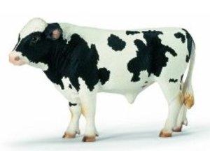 Schleich 13632 - Farm Life: Bulle, schwarzbunt