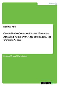 Green Radio Communication Networks Applying Radio-over-Fibre Tec