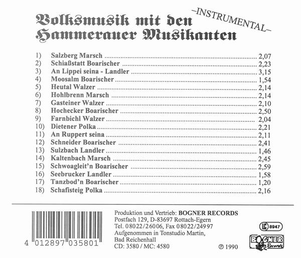 Volksmusik mit den...-Instrumental - zum Schließen ins Bild klicken