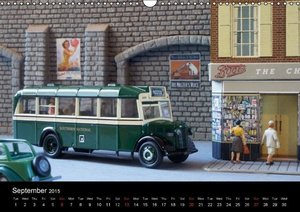 British Vintage Model Cars / UK-Version (Wall Calendar 2015 DIN