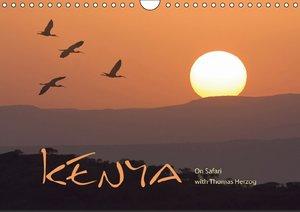 K E N Y A - UK Version (Wall Calendar 2015 DIN A4 Landscape)