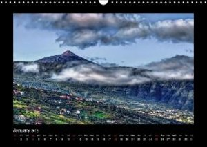 Tenerife Island Magic in the Atlantic (Wall Calendar 2015 DIN A3